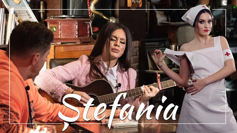 Ștefania Iacob, exotică și (în)cântătoare, în folkul românesc