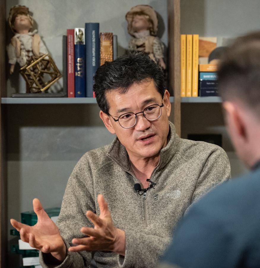 Mr Park, profu' de română din Seul (fotoreportaj)