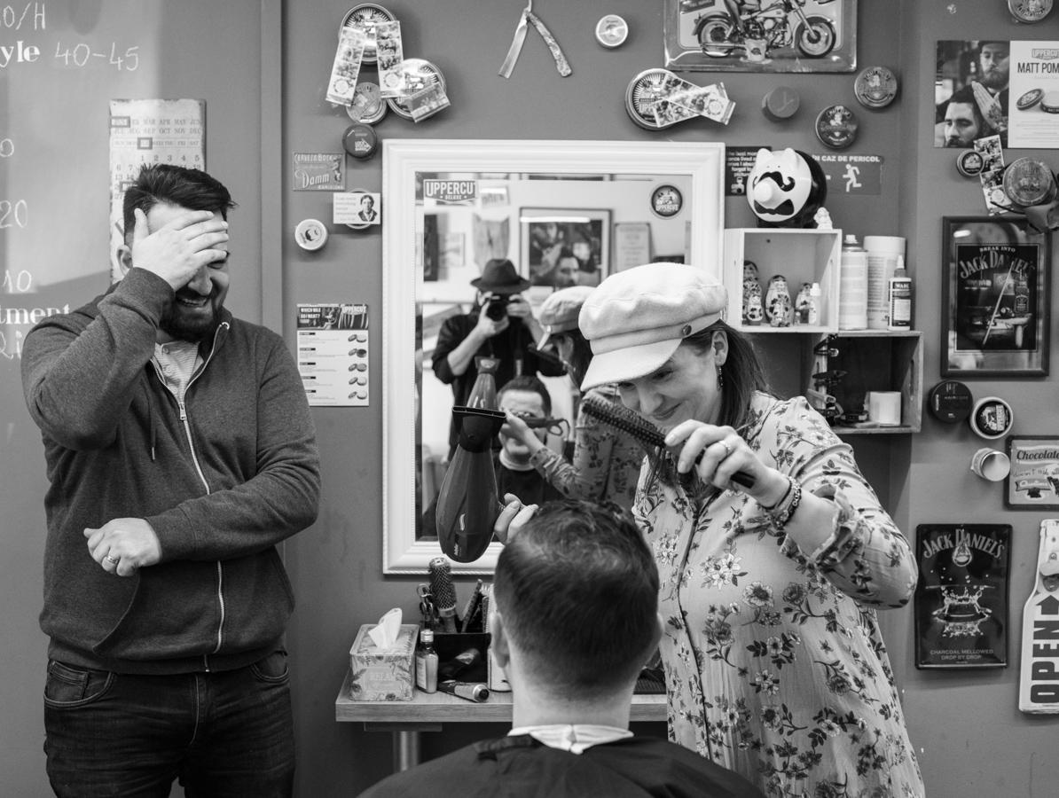 La barbershop, la Dizzy (fotoreportaj)