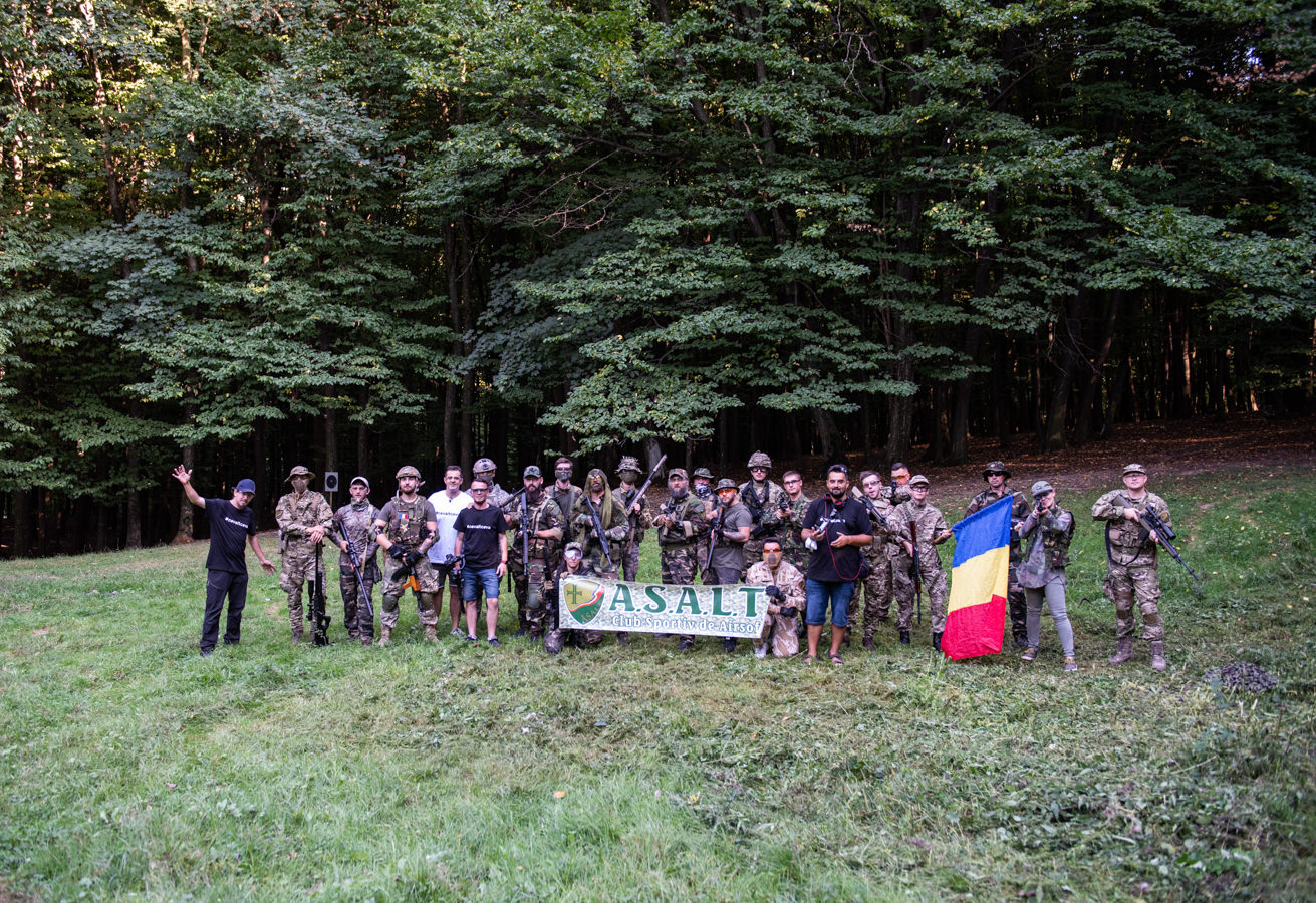 Am jucat airsoft în pădure (Suceava, Ipotești, 2020) (fotoreportaj)