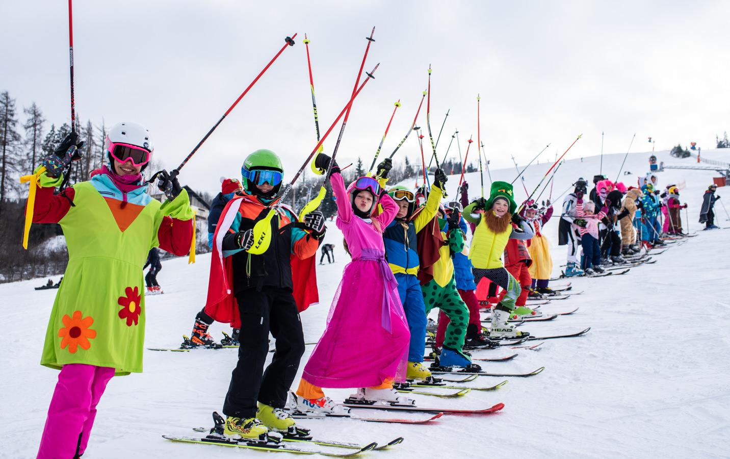 Cum a fost la World Snow Day, la Vatra Dornei (2021) (fotoreportaj)
