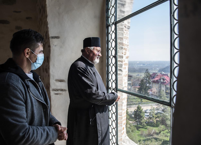Panorama Sucevei, văzută din turnul ținut închis de peste două decenii (fotoreportaj)