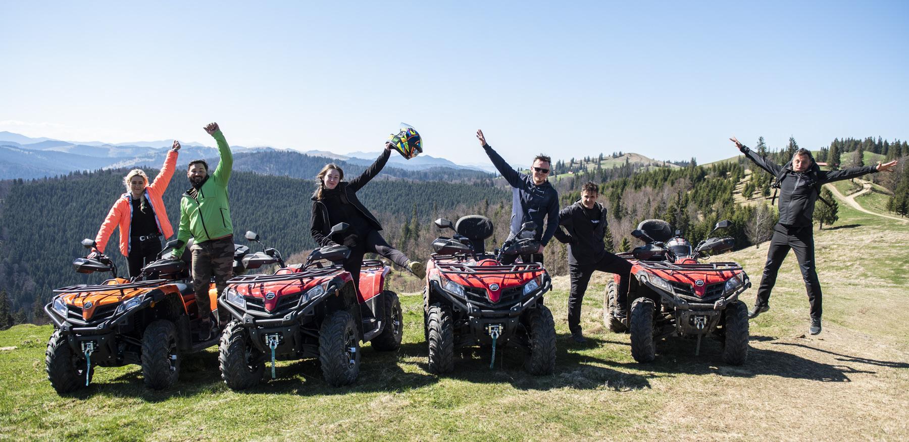 ATV-uri, Adrenalină, Zacuscă Și Coaste De Porc Caramelizate (Mălini – Bucovina) (fotoreportaj)