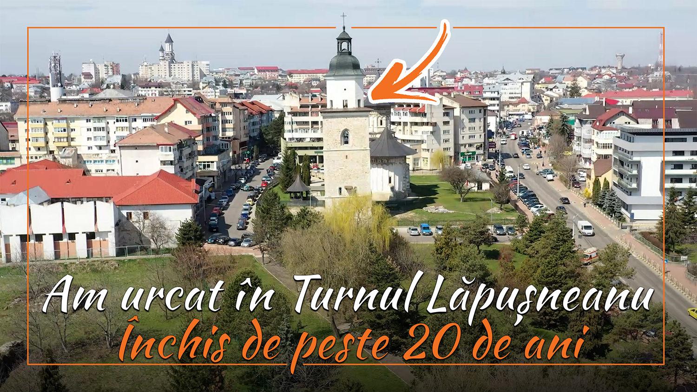 Panorama Sucevei, văzută din turnul ținut închis de peste două decenii