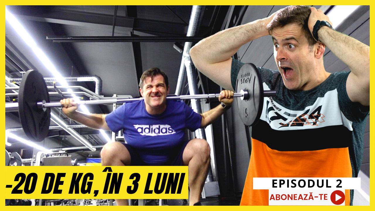 Cum Am Slăbit 20 De Kilograme În 3 Luni! În Sala de Fitness!